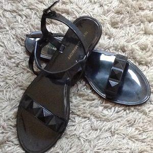 Rebecca Minkoff jelly studded sandal